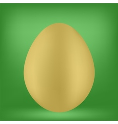 Single Egg vector image vector image