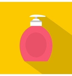 Liquid soap icon flat style vector