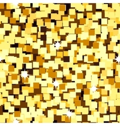 gold sparkle glitter seamless background vector image