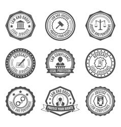 Law labels set vector