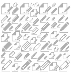 Pencil a background vector image vector image