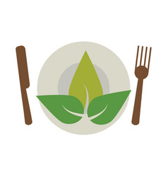 Vegetarian food diet health vector