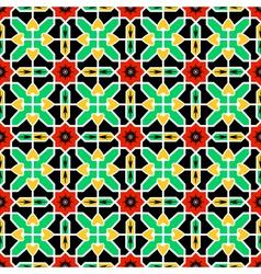 Pattern in Islamic design vector image
