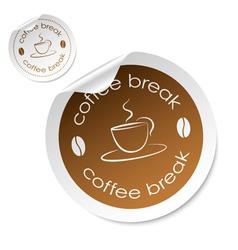coffee stick vector image