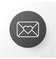 close envelope icon symbol premium quality vector image
