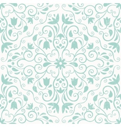 Floral pattern seamless background vector