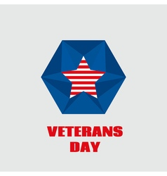 For veterans day vector