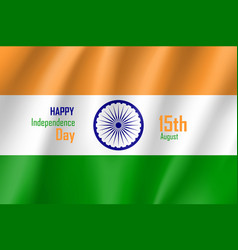 India happy independence day vector