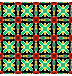 Pattern in Islamic design vector image vector image