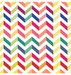 seamless chevron colorful pattern pastel vector image vector image