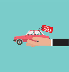 Zero percent car loan vector