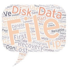 Data recovery first aid tips to increase your vector