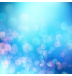 Abstract bokeh background EPS 10 vector image vector image