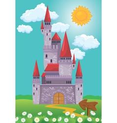 castle 380 vector image vector image