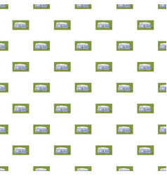 Mobil home pattern vector