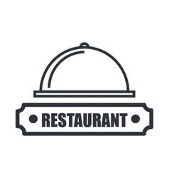 Menu restaurant isolated icon design vector