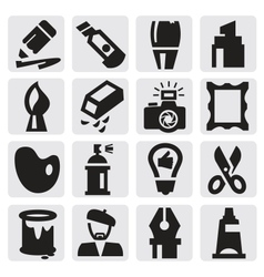 Creative icons vector