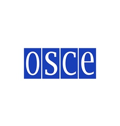 OSCE Organization for Security and Co operation in vector image vector image