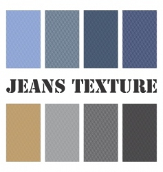 jeans texture seamless  vector image