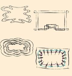 frame6 vector image