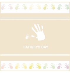 gift card on fathers day vector image vector image