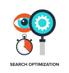 Search Optimization vector image vector image