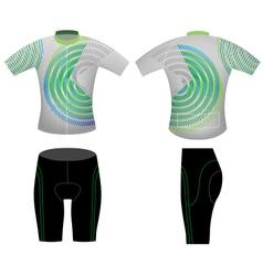 Sportswear t shirt vector