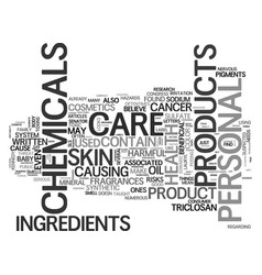 What s in your personal care items text word vector