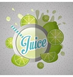 Juice icon design vector