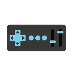 control remote drone isolated icon design vector image