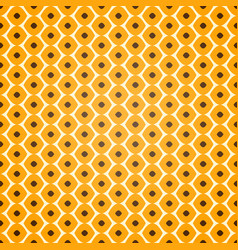 seamless geometric pattern on yellow background vector image vector image