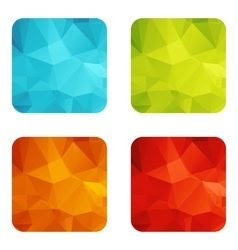 Set templates vector image