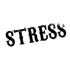 Stress rubber stamp vector