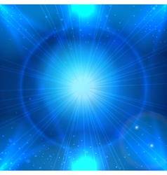Abstarct blue space background with light star for vector