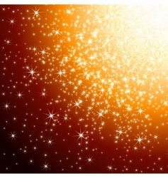 Background stars vector