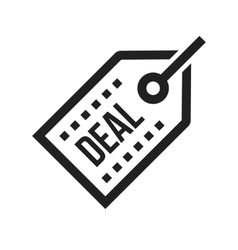 Online deals vector