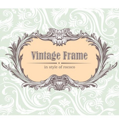 Vintage decorative vector