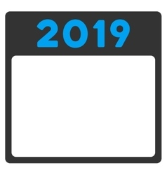 2019 appointment icon vector