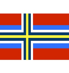 Scandinavia vector image vector image