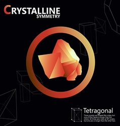 Tetragonal 01 vector