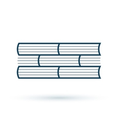 Read books concept icon vector image