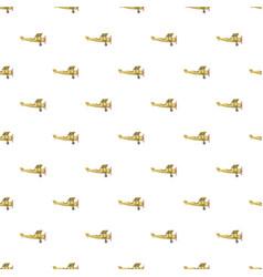 Biplane pattern vector