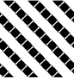 Seamless pattern with black rhombus vector