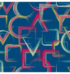 squares pattern Abstract geometric pattern vector image