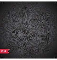 Striped background tangled seamless patter vector