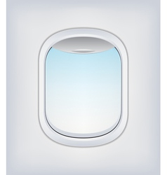 Window Airplane 03 vector image vector image