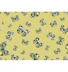 funky butterflies vector image