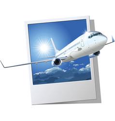 Passenger boeing 737 vector