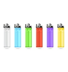 Lighters set vector