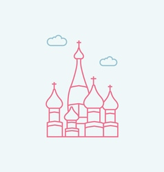 Saint basil s cathedra vector